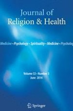 Journal of Religion and Health 3/2014