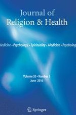 Journal of Religion and Health 3/2016