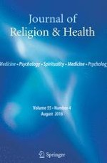 Journal of Religion and Health 4/2016