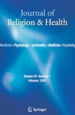 Journal of Religion and Health 1/2020