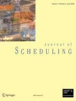 Journal of Scheduling 3/2008