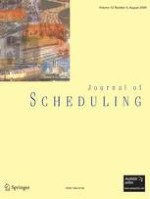 Journal of Scheduling 4/2009