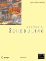 Journal of Scheduling 4/2010