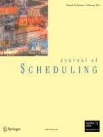 Journal of Scheduling 1/2011