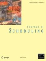 Journal of Scheduling 5/2011