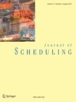 Journal of Scheduling 4/2014