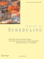 Journal of Scheduling 6/2020
