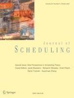 Journal of Scheduling 5/2021