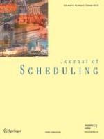 Journal of Scheduling 6/2004