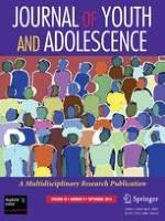 Journal of Youth and Adolescence 1/2001