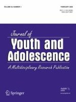 Journal of Youth and Adolescence 1/2006