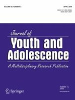 Journal of Youth and Adolescence 2/2006