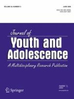 Journal of Youth and Adolescence 3/2006