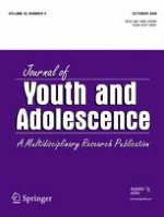 Journal of Youth and Adolescence 5/2006