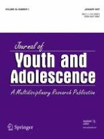 Journal of Youth and Adolescence 1/2007
