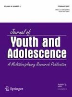 Journal of Youth and Adolescence 2/2007