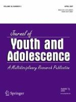 Journal of Youth and Adolescence 3/2007