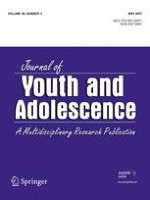 Journal of Youth and Adolescence 4/2007