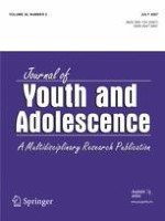Journal of Youth and Adolescence 5/2007