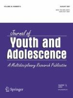 Journal of Youth and Adolescence 6/2007