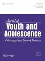 Journal of Youth and Adolescence 7/2007