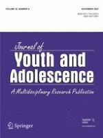 Journal of Youth and Adolescence 8/2007