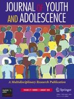 Journal of Youth and Adolescence 1/2008