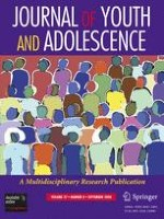 Journal of Youth and Adolescence 8/2008