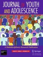Journal of Youth and Adolescence 11/2010
