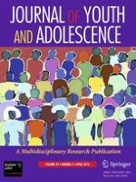 Journal of Youth and Adolescence 4/2010