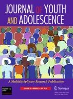 Journal of Youth and Adolescence 7/2010