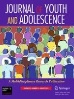 Journal of Youth and Adolescence 8/2010