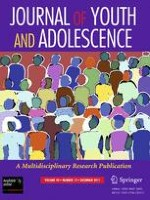 Journal of Youth and Adolescence 12/2011