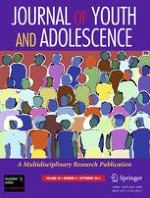 Journal of Youth and Adolescence 9/2011
