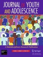 Journal of Youth and Adolescence 10/2012