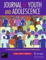 Journal of Youth and Adolescence 12/2012