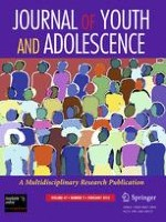 Journal of Youth and Adolescence 2/2012