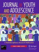 Journal of Youth and Adolescence 7/2012