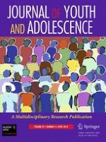 Journal of Youth and Adolescence 4/2013