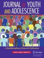 Journal of Youth and Adolescence 2/2014