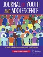 Journal of Youth and Adolescence 4/2014