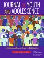 Journal of Youth and Adolescence 1/2016