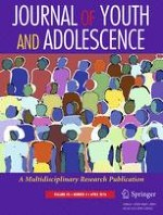 Journal of Youth and Adolescence 4/2016