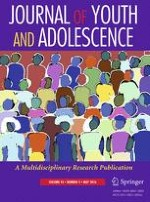 Journal of Youth and Adolescence 5/2016
