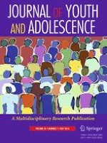 Journal of Youth and Adolescence 7/2016