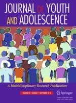 Journal of Youth and Adolescence 9/2016