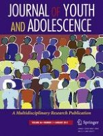 Journal of Youth and Adolescence 1/2017