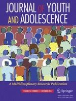 Journal of Youth and Adolescence 11/2017