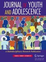 Journal of Youth and Adolescence 9/2017