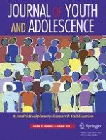 Journal of Youth and Adolescence 1/2018